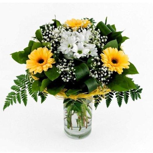 БЦ-160121 Чистота: букеты цветов на заказ Flowwow