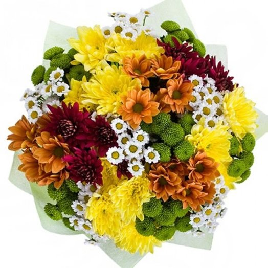 Краски осени: букеты цветов на заказ Flowwow
