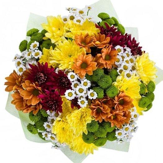 БЦ-160176 Краски осени: букеты цветов на заказ Flowwow