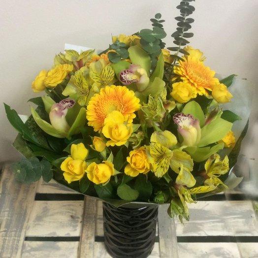 Букет Лимон: букеты цветов на заказ Flowwow