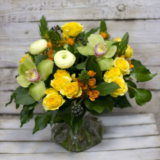 Исполнение желаний: букеты цветов на заказ Flowwow