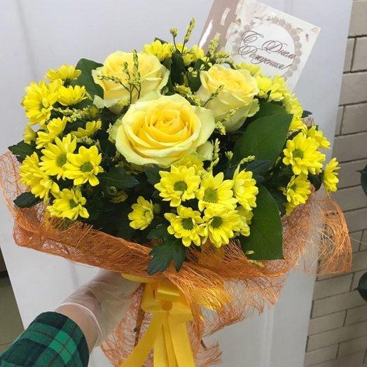 Букет Осень  Код 169919: букеты цветов на заказ Flowwow