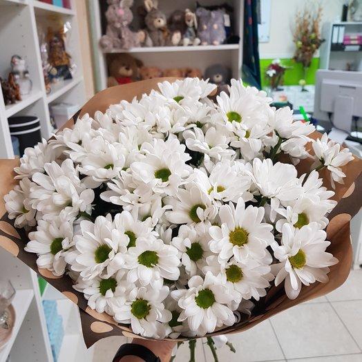 Нежная хризантема: букеты цветов на заказ Flowwow