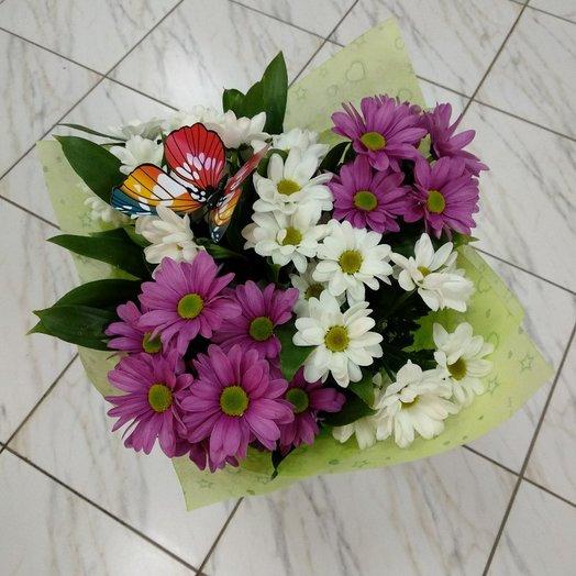 Букет   хризантем 3