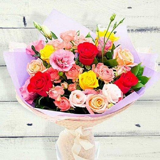Комплимент для тебя: букеты цветов на заказ Flowwow