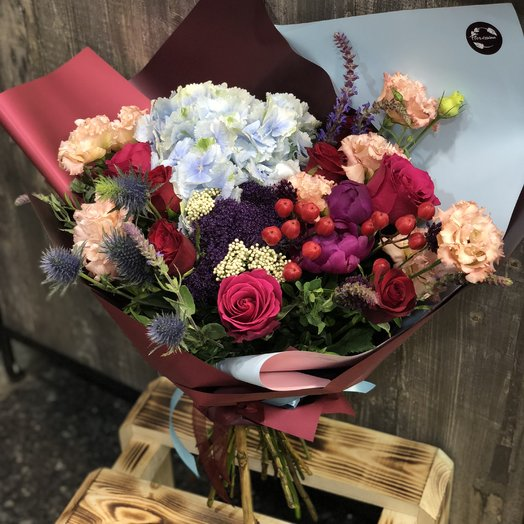 """Букет """"Роберта"""": букеты цветов на заказ Flowwow"""