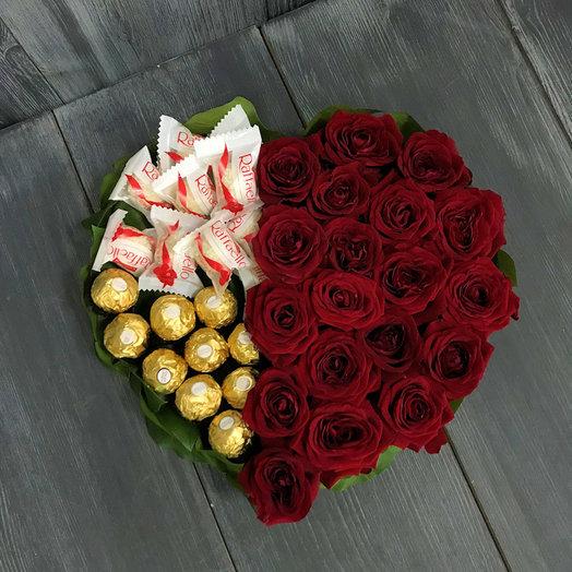 Сладкий вкус любви: букеты цветов на заказ Flowwow