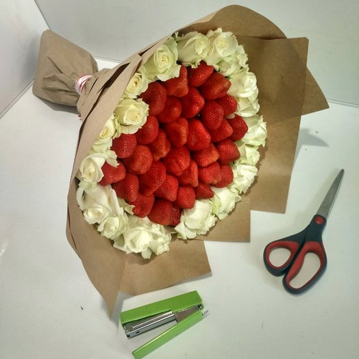 """""""Благодарный вкус"""": букеты цветов на заказ Flowwow"""