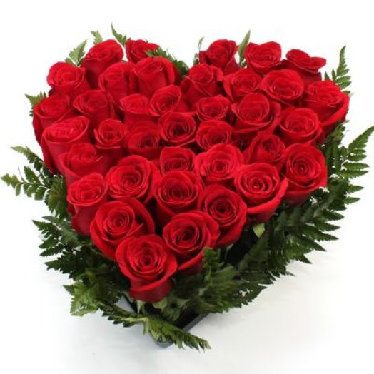 Corazon de Rosas: flowers to order Flowwow