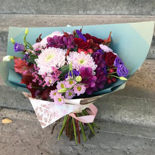 Букет Бордо : букеты цветов на заказ Flowwow