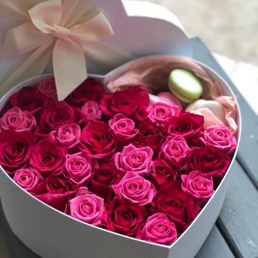 Розовое Сердце для мамы