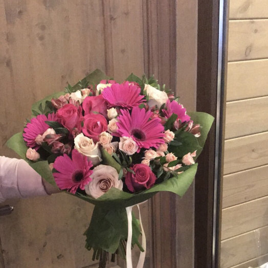 """Букет цветов для девушки """"Для Ирины"""""""