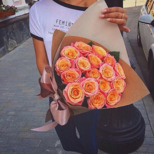 Букет Юность: букеты цветов на заказ Flowwow