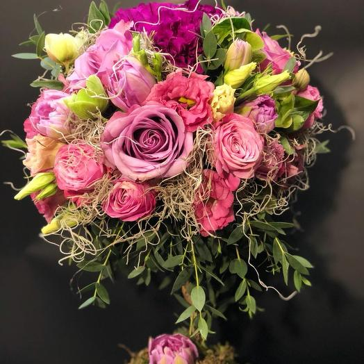 Цветочная фантазия: букеты цветов на заказ Flowwow