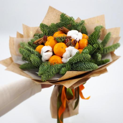 Tangerines on the tree: flowers to order Flowwow