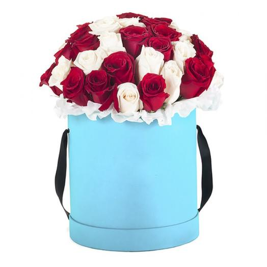 Коробочка на счастье: букеты цветов на заказ Flowwow