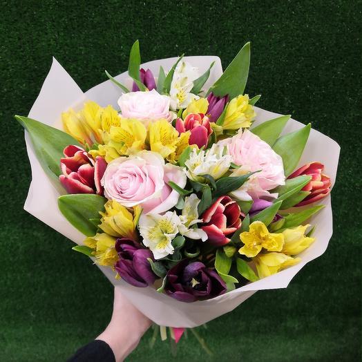 Воздушный букетик: букеты цветов на заказ Flowwow