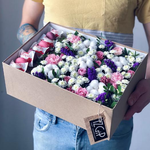 Box 2 Большой 1: букеты цветов на заказ Flowwow