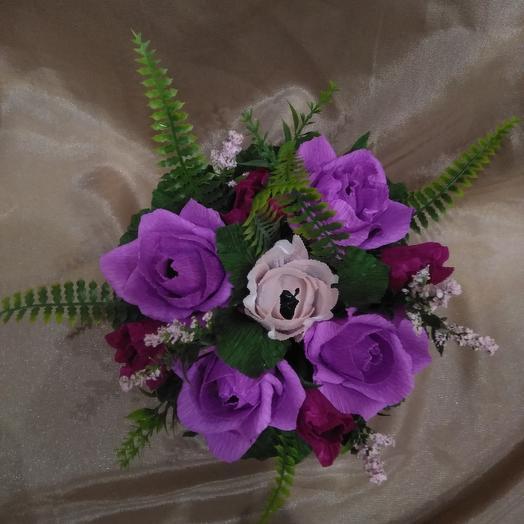 Сладкий букет из раффаэло: букеты цветов на заказ Flowwow