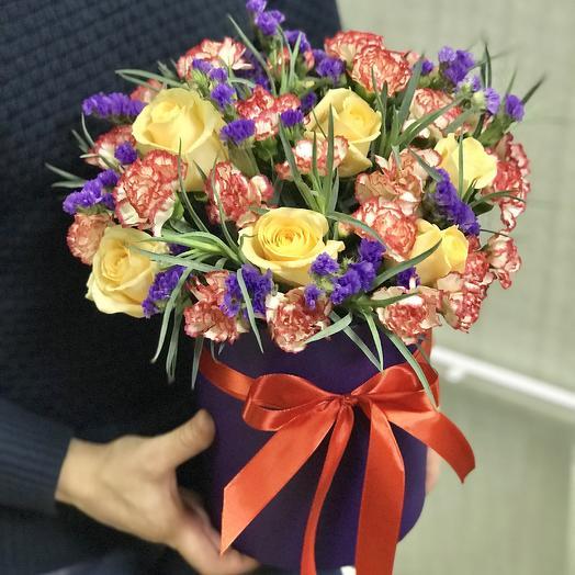 Микс цветов в Коробке: букеты цветов на заказ Flowwow