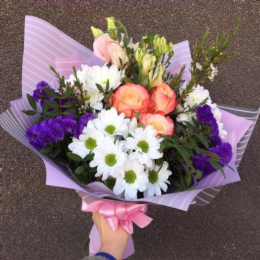 Сборный весенний букет: букеты цветов на заказ Flowwow