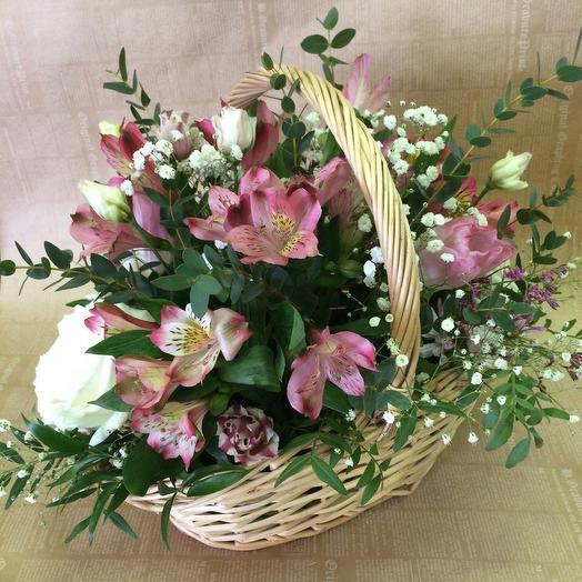 Цветочная композиция 12: букеты цветов на заказ Flowwow
