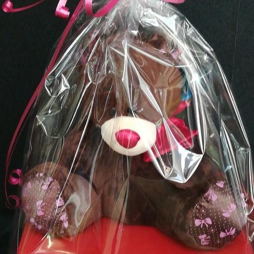 Медведь: букеты цветов на заказ Flowwow