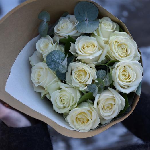 """Букет из роз """"Славянский бульвар"""": букеты цветов на заказ Flowwow"""