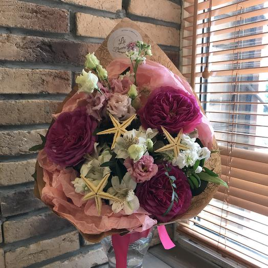 Звёздный: букеты цветов на заказ Flowwow