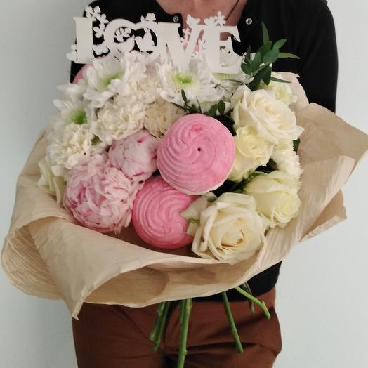 "Букет ""Зефир"": букеты цветов на заказ Flowwow"