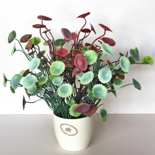 Композиция из искусственных цветов 400657: букеты цветов на заказ Flowwow