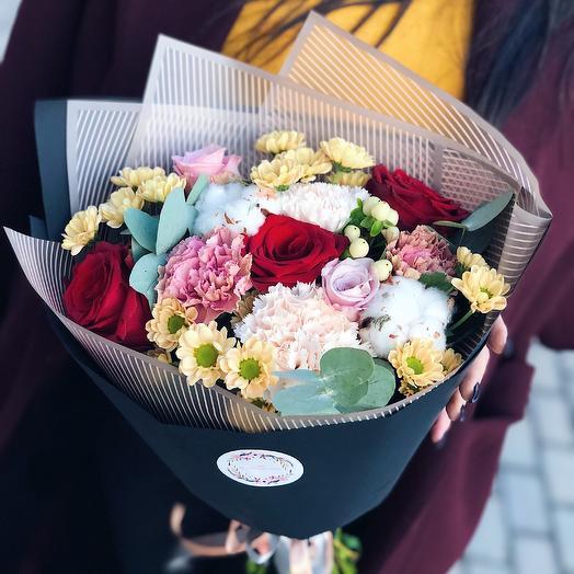 Тёплая осень: букеты цветов на заказ Flowwow