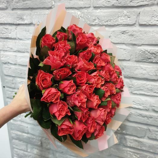 Коралловое чудо: букеты цветов на заказ Flowwow