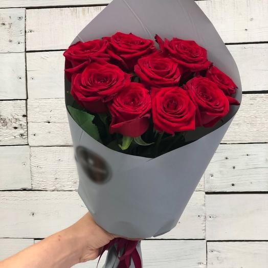 Букет 9 роз Экспловер