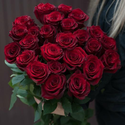 Красные розы 30: букеты цветов на заказ Flowwow