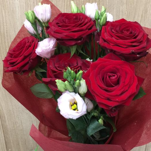 Букет Роза красная