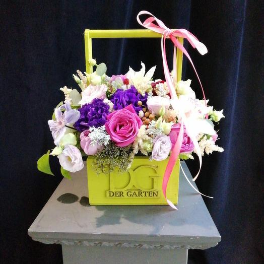 Мон Амор: букеты цветов на заказ Flowwow
