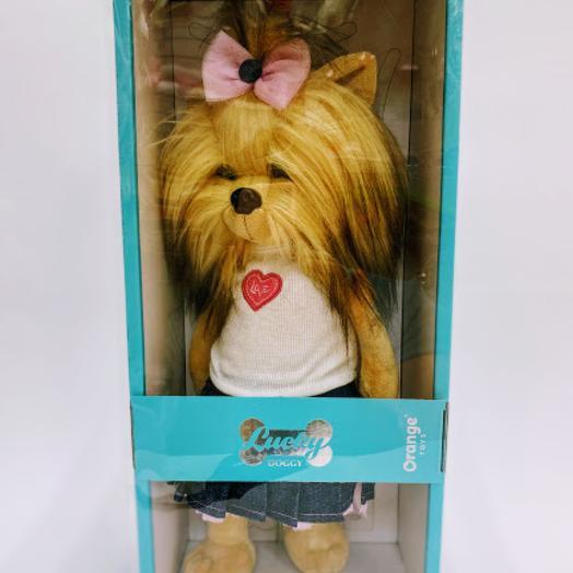 Собачка Lucky в подарочной коробке