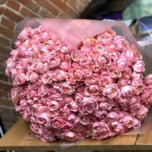 101 Пионовидная роза Джульетта