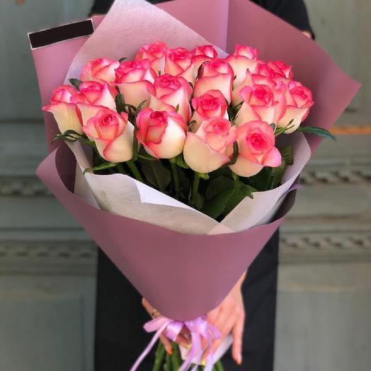 Роза розовая джумилия 60см