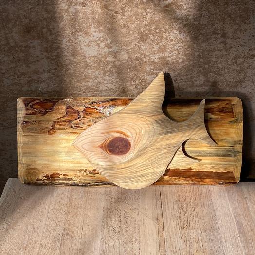 Рыбка из дерева