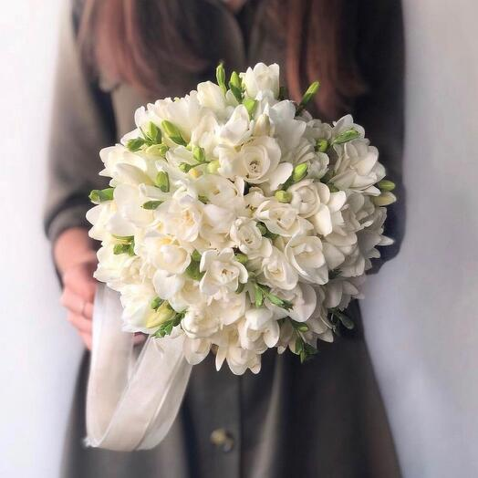 Ароматный букет невесты