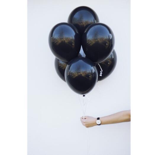 Черные воздушные шары (Латекс)
