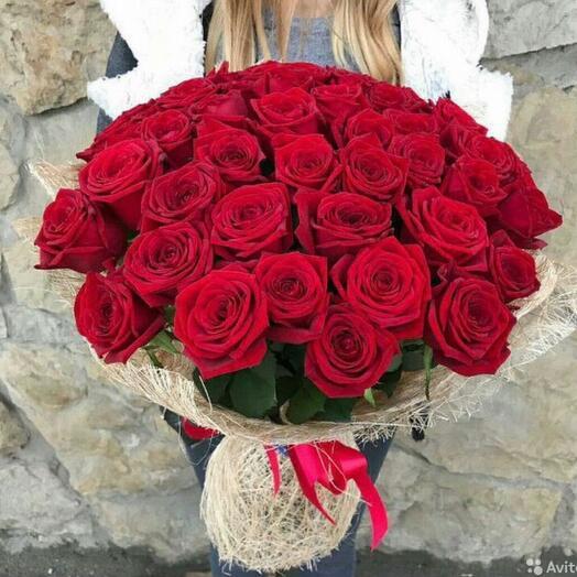 Букет 51 Роза 60