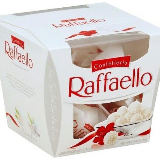 "Конефеты ""Raffaello"" (150 гр)"