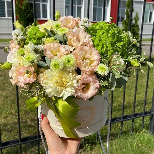 Цветы в коробке🌸