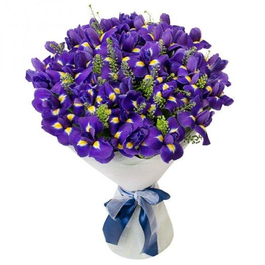 Букет Синеглазка: букеты цветов на заказ Flowwow