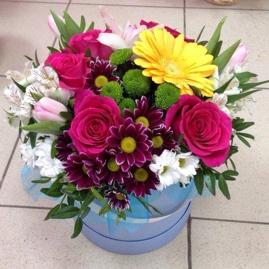Коробка Лилак: букеты цветов на заказ Flowwow