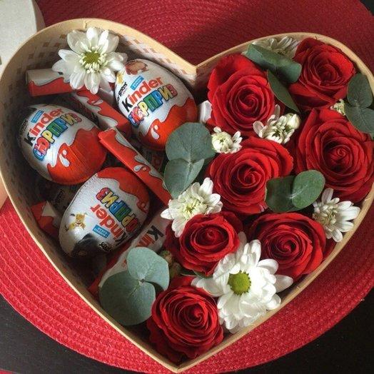 Сюрьприз: букеты цветов на заказ Flowwow