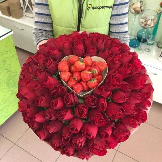Сладкое признание: букеты цветов на заказ Flowwow